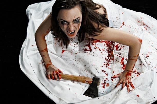 Axe Blood Spattered Bride