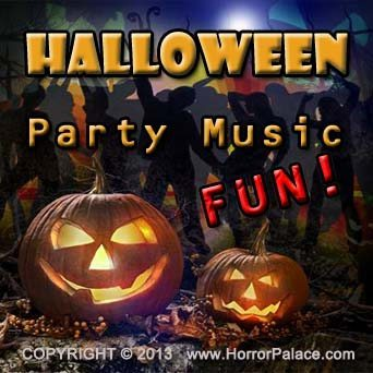 Halloween Party Music Fun - Album Cover