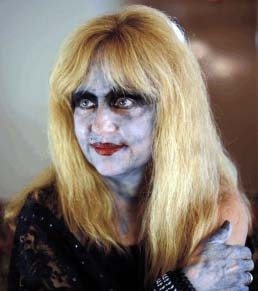 Linnea Quigley as Miss Strangelove