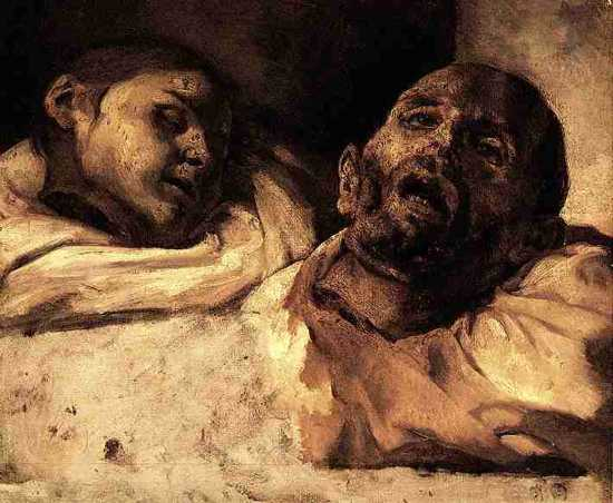 Heads Severed by Theodore Gericault