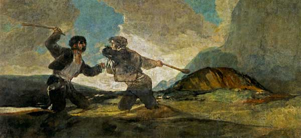 Goya-Fight-with-Cudgels