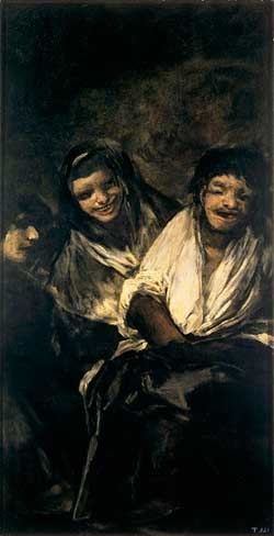 Goya-Man-Mocked-by-Two-Women