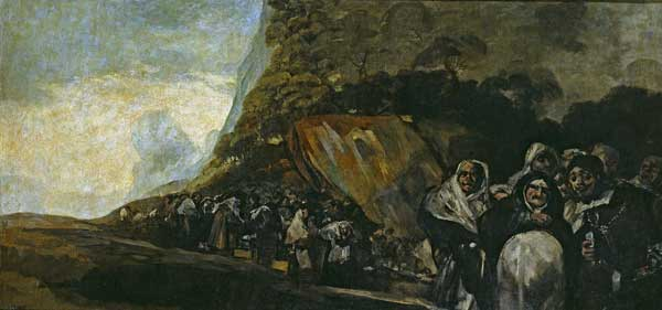 Goya-Procession-of-the-Holy-Office