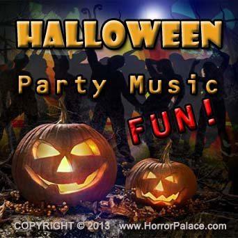 Halloween Party Music Fun - Album Cover
