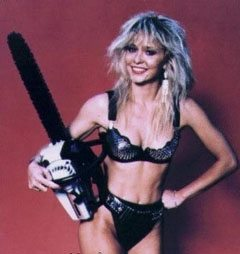 Linnea Quigley Chainsaw Original