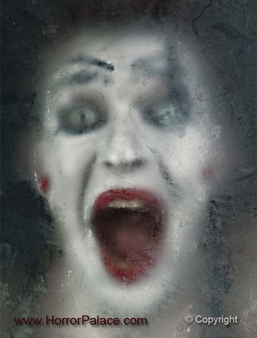 Scary-clown-woman