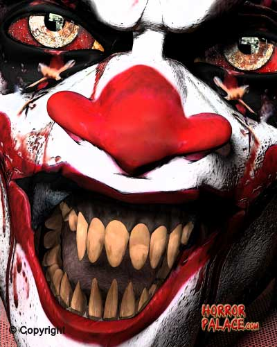 scary clown pictures horror palace