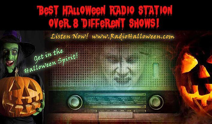 The Best Halloween Radio Station! | HORROR PALACE™