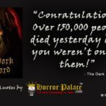 Congratulations! (Dark Quote)